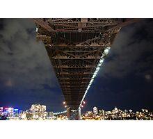 Under the harbour bridge Photographic Print