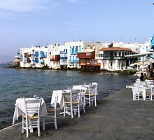 Little Venice, Mykonos by Christopher Biggs