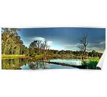 Wonga - Wonga Wetlands, Albury - The HDR Experience Poster