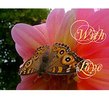 Romantic Card Photographic Print