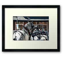 If Your Not Out Front the View is Always the Same!  Framed Print
