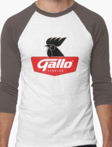 Gallo Cerveza - Best Beer In Guatemala Central America Men's Baseball ¾ T-Shirt