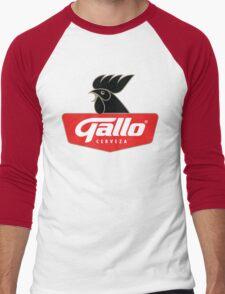 Gallo Cerveza - Best Beer In Guatemala Central America Men's Baseball ¾ T-Shirt