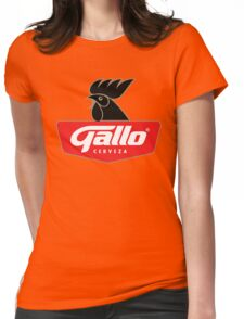 Gallo Cerveza - Best Beer In Guatemala Central America Womens Fitted T-Shirt
