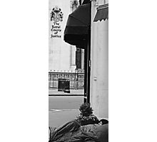 Outside the Royal Courts of Justice Photographic Print