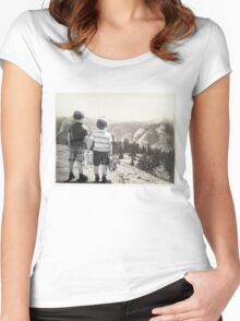 Back to the Wild Women's Fitted Scoop T-Shirt