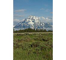 Moran Peak Photographic Print