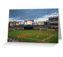 Yankee Stadium Subway Series Greeting Card