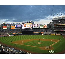 Yankee Stadium Subway Series Photographic Print