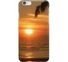 Sun sets over Phi Phi Islands iPhone Case/Skin