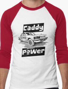 Caddy Power DT Men's Baseball ¾ T-Shirt