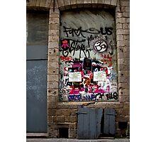 Lille graffiti Photographic Print