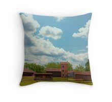 Batsto Farmstead Throw Pillow