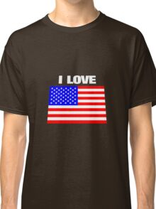 I love USA Classic T-Shirt