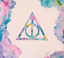 Deathly Hallows by PeonyPaints