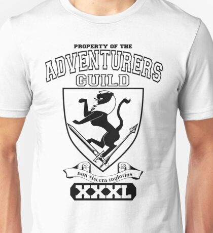 Xcrawl Adventurers Guild  Unisex T-Shirt