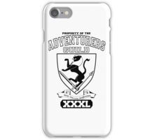 Xcrawl Adventurers Guild  iPhone Case/Skin