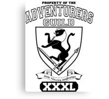 Xcrawl Adventurers Guild  Canvas Print