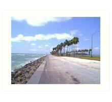 Causeway Breeze Art Print