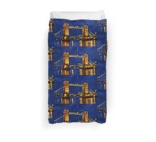 Glow of the night  Duvet Cover