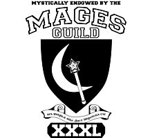 Xcrawl Mages Guild Photographic Print