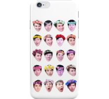 Dan and Phil- Flower Crowns iPhone Case/Skin