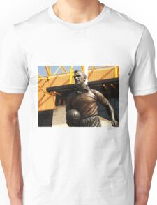 statue out side a football stadium Unisex T-Shirt