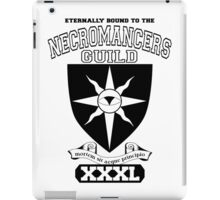 Xcrawl Necromancers Guild iPad Case/Skin