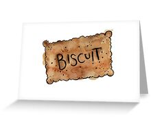 Biscuit Greeting Card