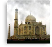 Taj Mahal-Seven Wonder of the World Canvas Print