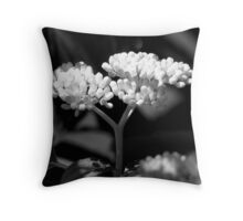 Glowing Buds  Throw Pillow