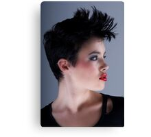 Kirsten Side Profile Canvas Print