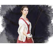 Lady Rapier Photographic Print