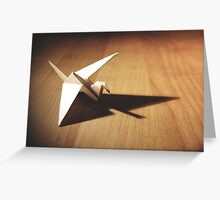 origami bird Greeting Card