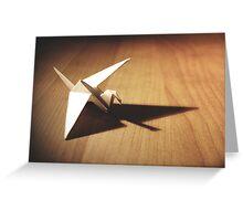 origami bird Greeting Card