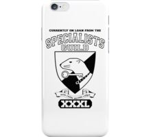 Xcrawl Specialists Guild iPhone Case/Skin