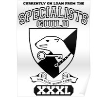 Xcrawl Specialists Guild Poster