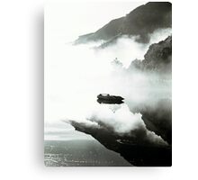 0 Morning mist on Loch Etive HP Canvas Print