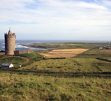 Doonagore Castle by John Quinn