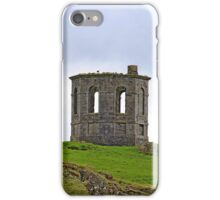 Landscape of ruined building (folly) Howood Scotland iPhone Case/Skin