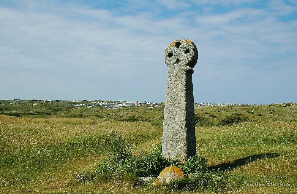 St. Piran's Cross by James Stevens