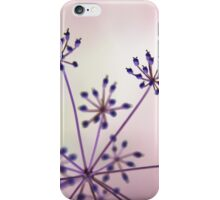 Pinkish Garden Medusa iPhone Case/Skin