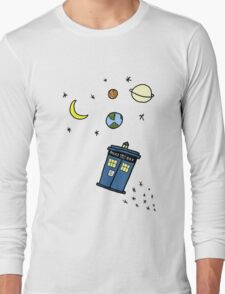 Little Tardis  Long Sleeve T-Shirt