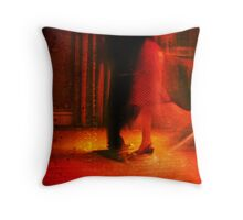 the dancers Throw Pillow