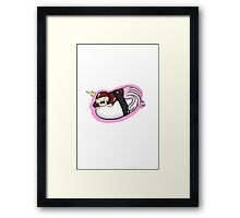 Red Sushi Spy Framed Print