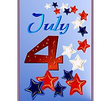 Big 4th of July Photographic Print