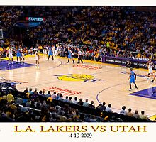 lakers vs utah by prestigerob