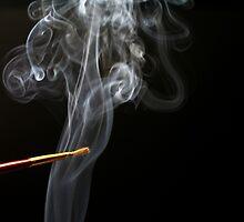 Painting Smoke. by Dipali S