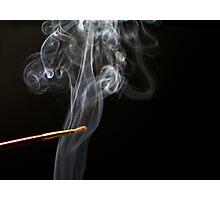 Painting Smoke. Photographic Print