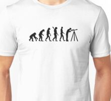 Evolution Astronomy telescope Unisex T-Shirt